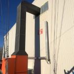 Воздушное отопление склада 1200кв.м.